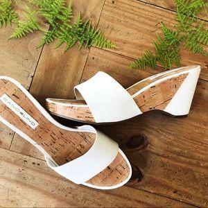 Bandolino Cork Wedge Sandals